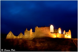 Ruthven Barracks with Torch
